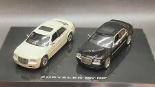 Kyosho Lv NOREV 1/64 CHRYSLER 300C and HEMI White and Black 2pcs set RARE