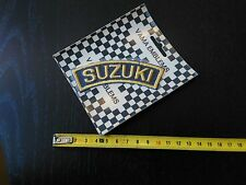 Suzuki NOS Vintage patch aufnäher badge emblem VAMA EMBLEMS
