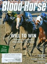 2013 The Blood-Horse Magazine #34: Will Take Charge Edges Moreno in the Travers