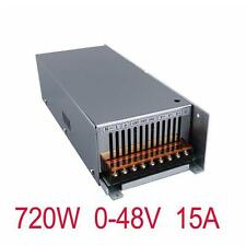 IN 220V Adjustable 0-48V Switching Power Supply 48V 15A 720W for Motor equipment
