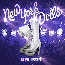 CD The New York Dolls Live 1974 CD la punk rarità da New York finalmente su CD