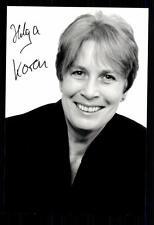 Helga Koren Foto Original Signiert ## BC 28170