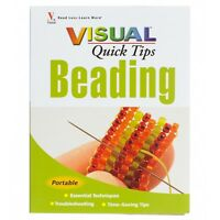Visual Quick Tips Beading Jewellery Making Book | Essential Techniques (A24/2)