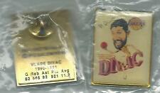 NBA Los Angeles Lakers Vlade Divac Caricature Picture Pin OOP RARE 1991-92 #2