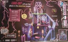 DISCONTINUED Monster High Freaky Fusion Catacombs Play Set BRAND NEW NRFBs
