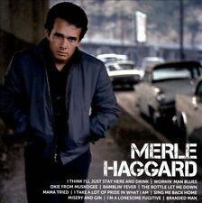 Merle Haggard - Icon (CD) • NEW • Best of, Greatest Hits, Okie From Muskogee