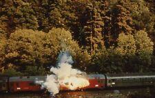 THE CASSANDRA CROSSING 1976 VINTAGE PRESS SLIDE #5 TRAIN