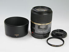 Tamron SP 60mm F/2 Di II Macro Lens 1:1 For Canon Mint with BOX