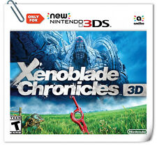 NEW 3DS Nintendo Xenoblade Chronicles 3D RPG