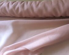 Pastel Powder Nude Pink Silk Cotton Fabric , Dress Making, Clothing, Costume