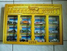 Hot Wheels Treasure Hunt Set HW 1997 Limited Edition TH 97 T-Hunts