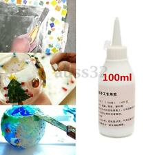100ml Universal Resin White Mosaic Glue Squeeze Bottle DIY Tiles Craft Tool
