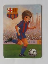 CALENDARIO  FUTBOL CLUB BARCELONA 1992.