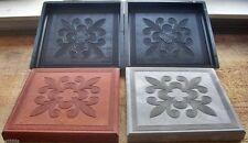 Moule pour fabrication dalle de terrasse rustique 30 x 30 cm