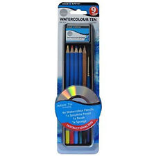 Daler-Rowney : Simply Pencil Watercolor 9 Piece Tin Set