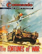 Commando For Action & Adventure Comic Book Magazine #1441 FORTUNES OF WAR