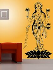 Asmi Collections Wall Stickers Goddess Maa Lakshmi