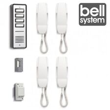 BELL904 4 WAY SYSTEM AUDIO DOOR PHONE INTERCOM ELECTRIC LOCK KIT POWER SUPPLY