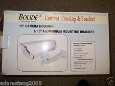 "New Bolide 15"" Camera Housing & 10"" Aluminum mounting bracket w/out heater"