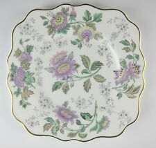 Wedgwood China AVON LAVENDER Square Salad Plate