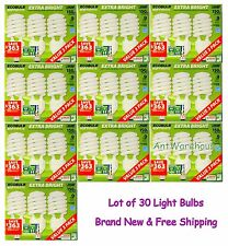 Lot of 30  Feit Electronic ECOBULB 40W Extra Bright CFL bulb E26 (U.S. Standard)