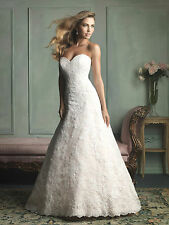 Allure Wedding Dresses Style 9109 was $1425 Mermaid shaped Bridal Gown NWT