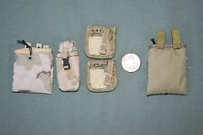 """1:6 Modern US Army Ammo Gear Bag Pouches (Lot of 5) for 12"""" Action Figures C-142"""