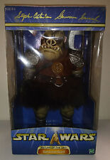 GAMORREAN GUARD 12 INCH STAR WARS SIGNED BY ACTOR HAS COA HASBRO 2002