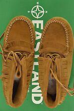 NEW EASTLAND AZTEC 1955 ACORN FRINGE ANKLE LEATHER BOOTS SZ 6.5 $125 #44-66478