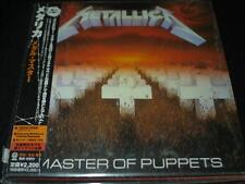 Master of Puppets by Metallica JAPAN LTD MINI LP CD SEALED