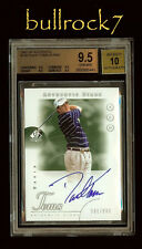 2001 UD SP Authentic Golf Stars DAVID TOMS #580/900 RC Auto BGS 9.5/10 #1176
