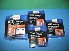 ELECTRONIC TENS THERAPY PAIN RELIEF CONTROL AND 9 PADS - BRAND NEW IN BOX !