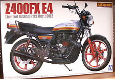 KAWASAKI Z 400 FX e4 Limited GRAND PRIX VERSIONE KIT di 1:12 Aoshima