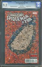 AMAZING SPIDER-MAN # 700 1ST PRINT DEATH OF PETER PARKER PASCAL GARCIN CGC 9.2