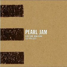 * PEARL JAM - Live: 07-08-03 New York, NY (3 CD DIGIPAK)