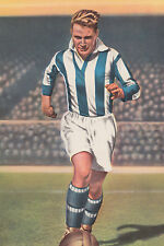Football Photo PETER DOHERTY Huddersfield Town 1940s