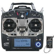 FUTABA 10JH 10J 10CH 2.4GHZ FHSS RADIO SYSTEM TX RX W/ R3008SB S BUS FUTK9201