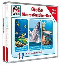 WAS IST WAS - HÖRSPIELBOX VOL.5 - GROßE MEERESFORSCHER-BOX 3 CD NEU