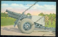 Army's 155 mm Howitzer (unmailed linen(militaryF#33*2