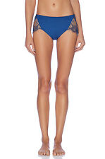 FOR LOVE AND LEMONS SKIVVIES BAT YOUR LASHES CHEEKY PANTY PANTIES BLUE LARGE $59
