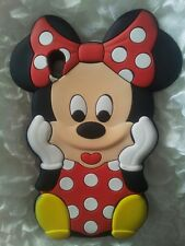ES- PHONECASEONLINE FUNDA S MINNIE RED PARA SONY XPERIA Z1