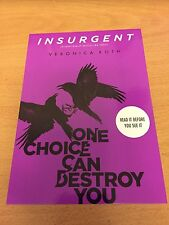 Book Cover Themed Postcard - Insurgent - Veronica Roth