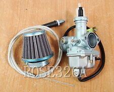 [NEW] Carburetor & Throttle Cable & Air Filter for HONDA CM NX TR XL XR Series