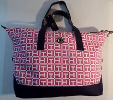 Tommy Hilfiger Convertible Totes & Shoppers Canvas Travel Bag.