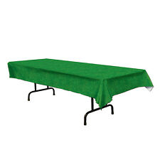 GRASS TABLECLOTH TABLE COVER FOOTBALL GOLF SOCCER SPORTS GARDEN PARTY EASTER