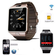 Android 4.4 Bluetooth Smart Phone Support SIM Card Watch With Camera 3G WiFi