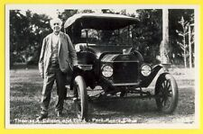 CPA Rare USA FLORIDA FORT MYERS Thomas A. EDISON Voiture Automobile Car FORD
