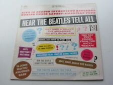 THE BEATLES   HEAR THE BEATLES TELL ALL    UK  PRESSING  CHARLY RECORDS   1982