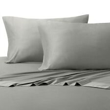 Hotel Comfort Rayon Blend Bamboo Sheet Set Soft Breeze QUEEN SIZE DOVE GREY