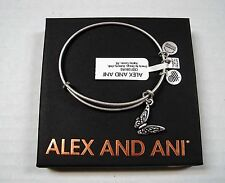 """ALEX AND ANI """"BUTTERFLY""""  Silver Bracelet ~ NWT ~ Meaning Card & Gift Box"""